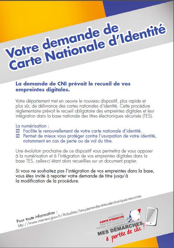 Carte Nationale D Identite Bienvenue A Auxon
